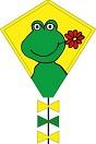 Возд.змей Eddy Happy Froggy 50 cm