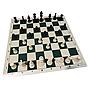 """Дорожные шахматы """"Black & White"""" большого размера"""