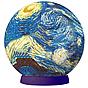 "Пазл-шар ""Ван Гог"" (60 деталей, 9 см)"