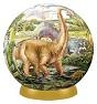 Пазл-шар Динозавры (60 деталей)