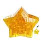Брелок - Мини головоломка Звезда Оранжевая