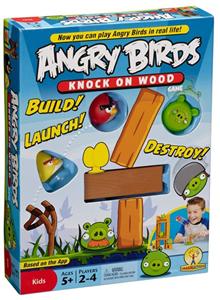 """Настольная игра """"Angry Birds Knock on Wood"""" (с инструкцией)"""