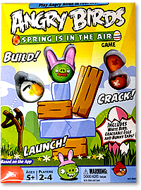 "Настольная игра ""Angry Birds Spring is in the air"" (с англ.инструкцией)"