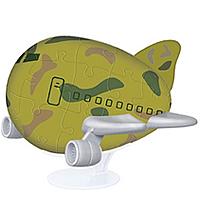 """3D Пазл """"Военный самолетик"""" (9 см)"""