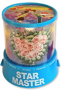 Будильник-проектор звездного неба