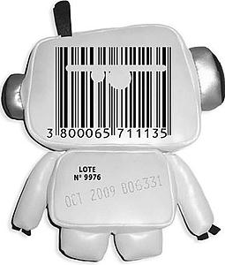 Дизайнерская игрушка Codebot