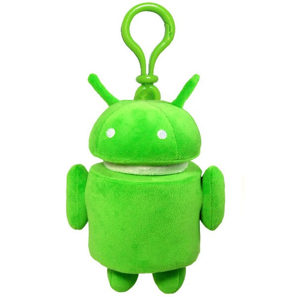 Плюшевый брелок Android (Андроид) - 9 см.