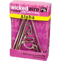 Головоломка Альфа (The Alpha)- это классическая проволочная головоломка, входящая в серию Запутанная проволока...