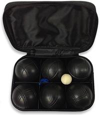 Набор для игры в Петанк (Боччу)  - шары черные