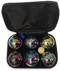 Набор для игры в Петанк (Боччу)  - шары радужные