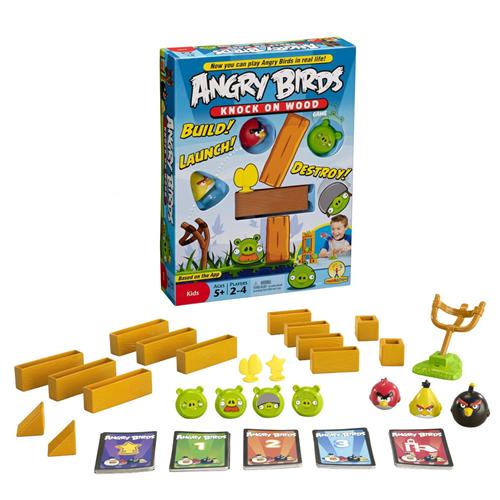 """Купить Настольную игру """"Angry Birds Knock on Wood"""" (с инструкцией)"""