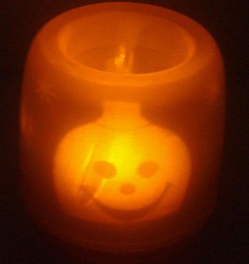 Ночник на хэллоуин
