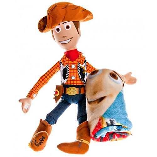 Купить Мягкая игрушка Вуди с пледом/ Woody hugger pillow
