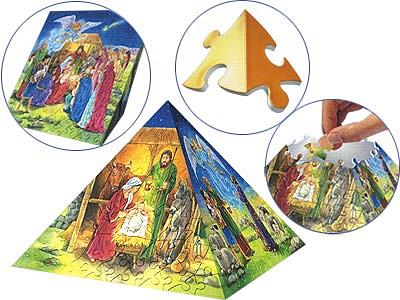 Пазл-пирамида