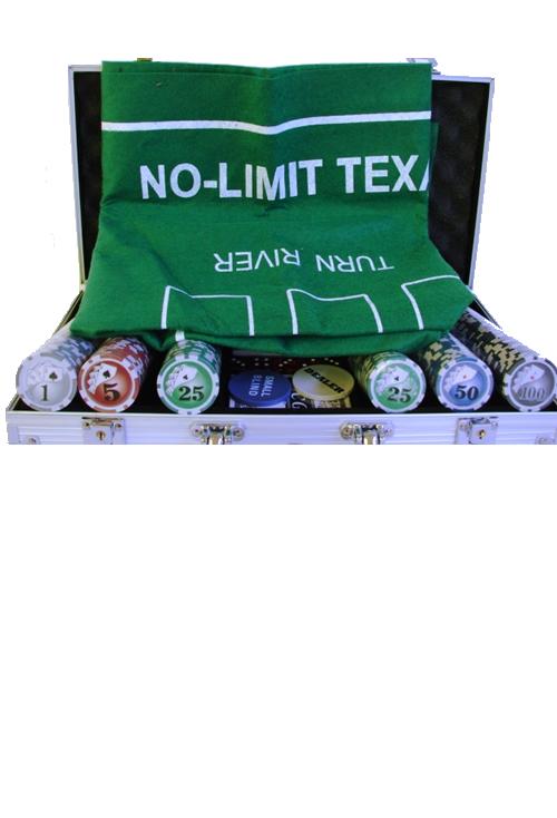 Характеристики: Покер 300 фишек с номиналом в металлическом чемодане.  Размер: 38.0 x 20.0.